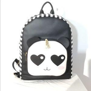 Luv Betsey By Betsey Johnson,Panda/Unicorn Bag NWT